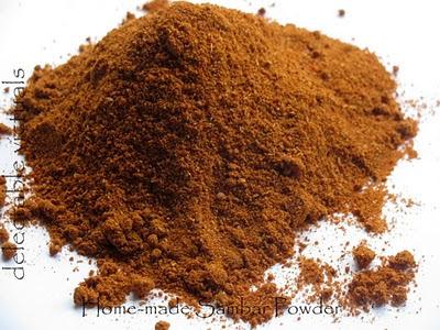 easy recipe home made sambar powder