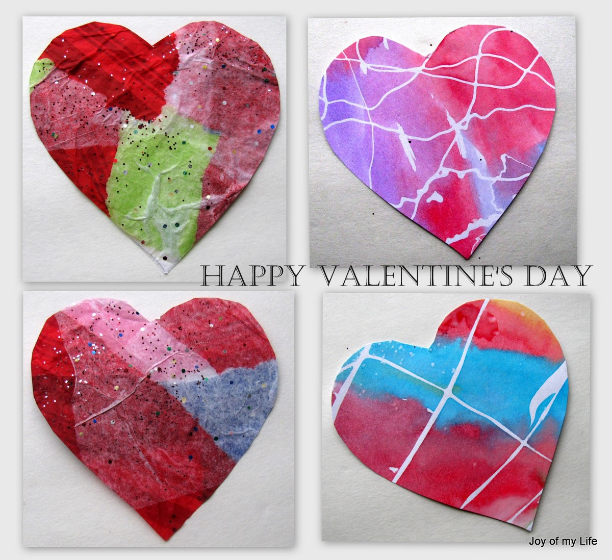 The joy of my life and other things kids crafts for Valentines day art and crafts for preschoolers