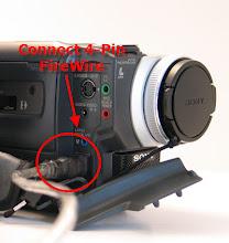 Firewire Input on Sony Camera