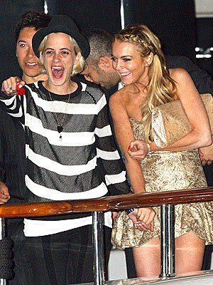 Lindsay Lohan lesbian