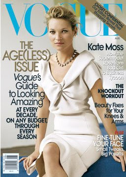 Kate Moss is beautiful in Vogue Magazine