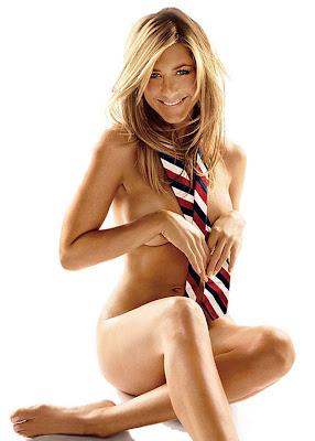 Jennifer Aniston- goala in GQ