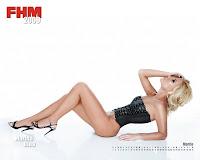 Daniela Crudu in virtual Calendar 2009 FHM