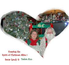 Santa & Mrs. C.