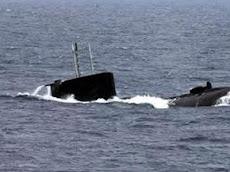 Καταδίωξη άγνωστου υποβρύχιου στη Τζιά