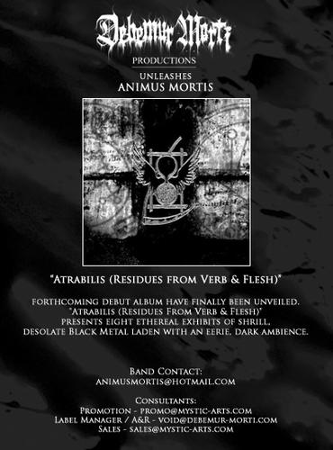 animus mortis - Atrabilis (Residues From Verb & Flesh) -  2008