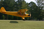 My Husband Geoff, Flying our Piper Cub