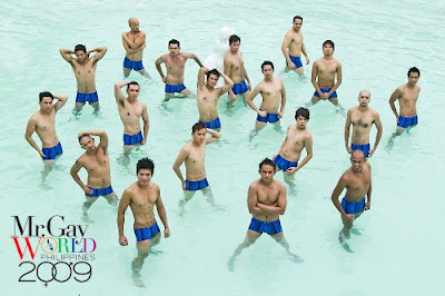 Mr. Gay World Philippines 2009 Pageant will be held on Sunday, October 25 at ...