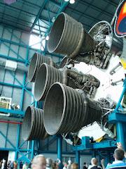 Saturn V Rocket Thrusters
