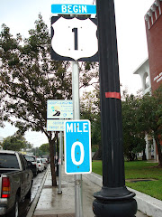 Beginning of US Route 1