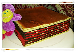 KEK LAPIS COKLAT STRAWBERRY