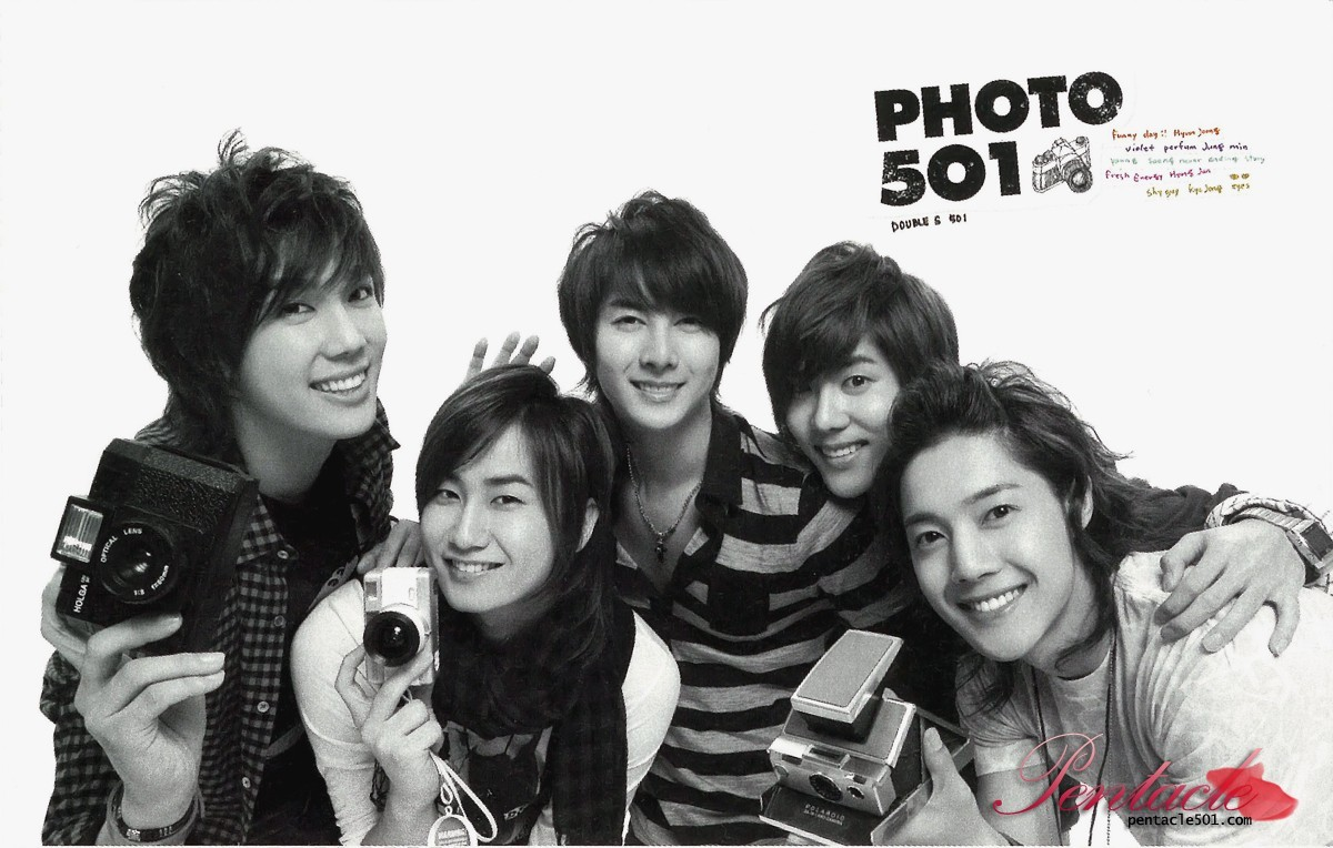 SS501 - PHOTO501 Photobook