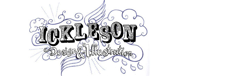 Ickleson illustration + design