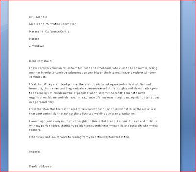 Letter thank you to boss | Enoteca La Vigna