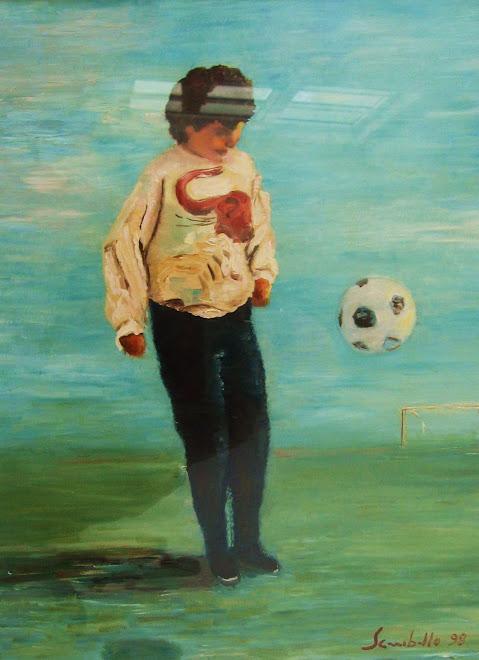 Nicole e il pallone