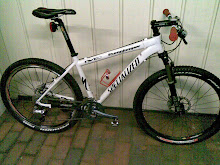 Previous bikes: Specialized Stumpjumper hardtail, 2003