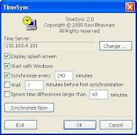 Configuracion de Time Sync