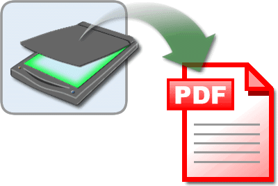 scan documents as pdf