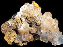 Cristales de Calcita (Vista al microscopio)
