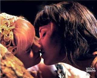 Xena e Gabrielle Beijo The Return of the Valkyrie