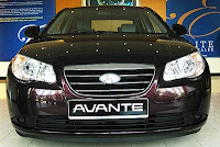 Car Rental - Hyundai Avante For Rent