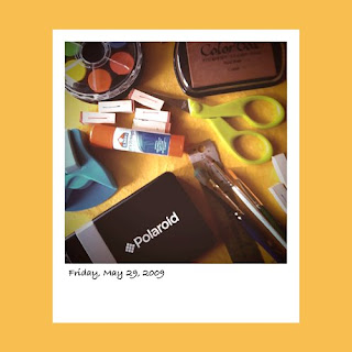 iPhone polaroid, art supplies, polaroid pogo