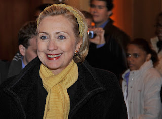 head bands, scarves, Hillary Clinton