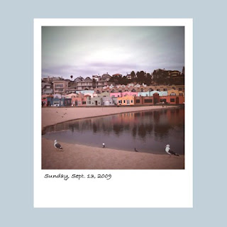 iPhone polaroid. Capitola