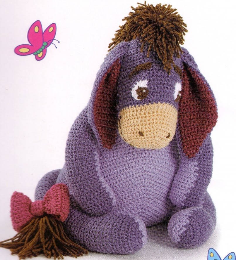 Spread Happiness With Eeyore ~ Baby Crafts