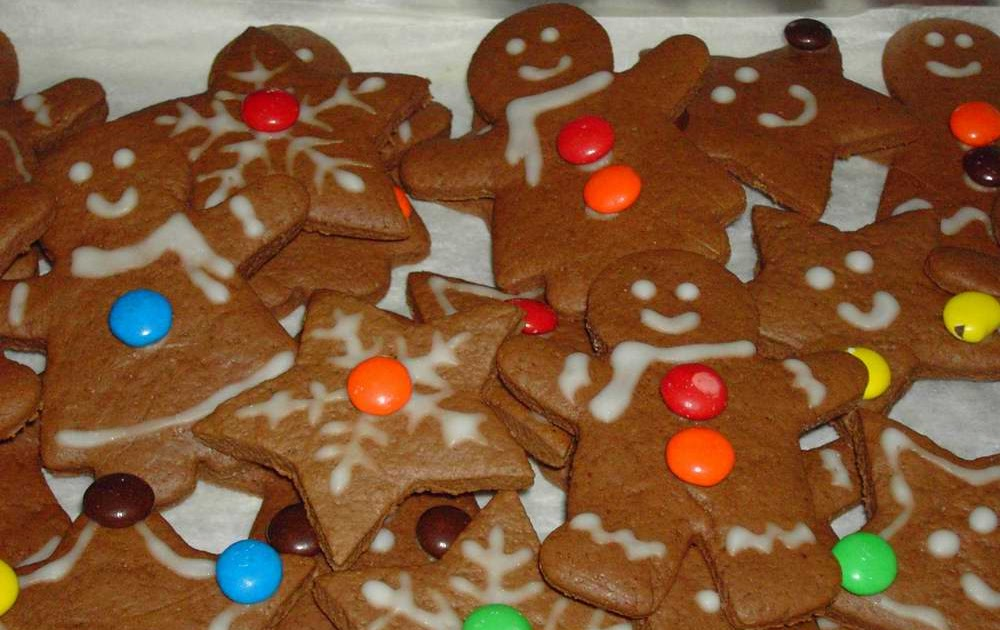 Blessed Homemaker: Chocolate Gingerbread Cookies
