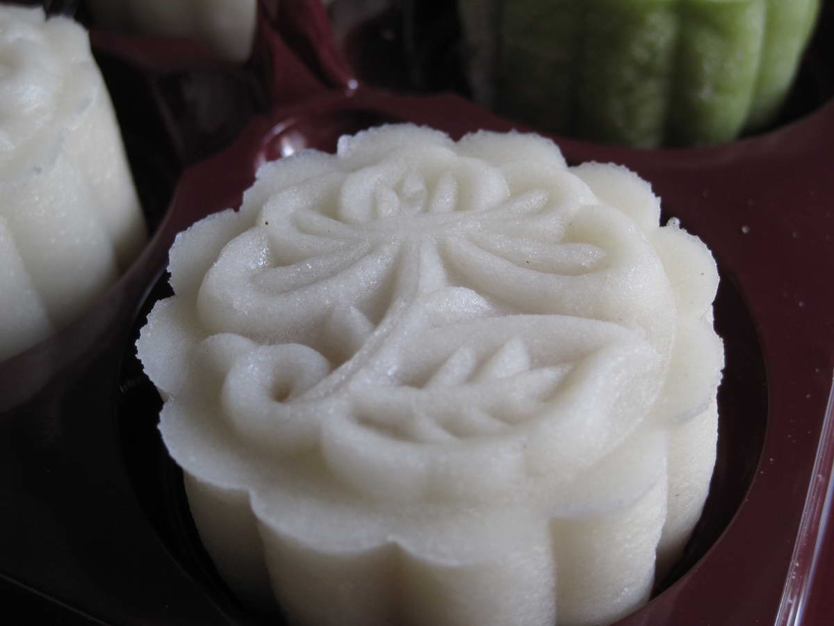 Blessed Homemaker: Snow Skin Mooncakes