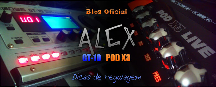 Alex GT-10 POD X3