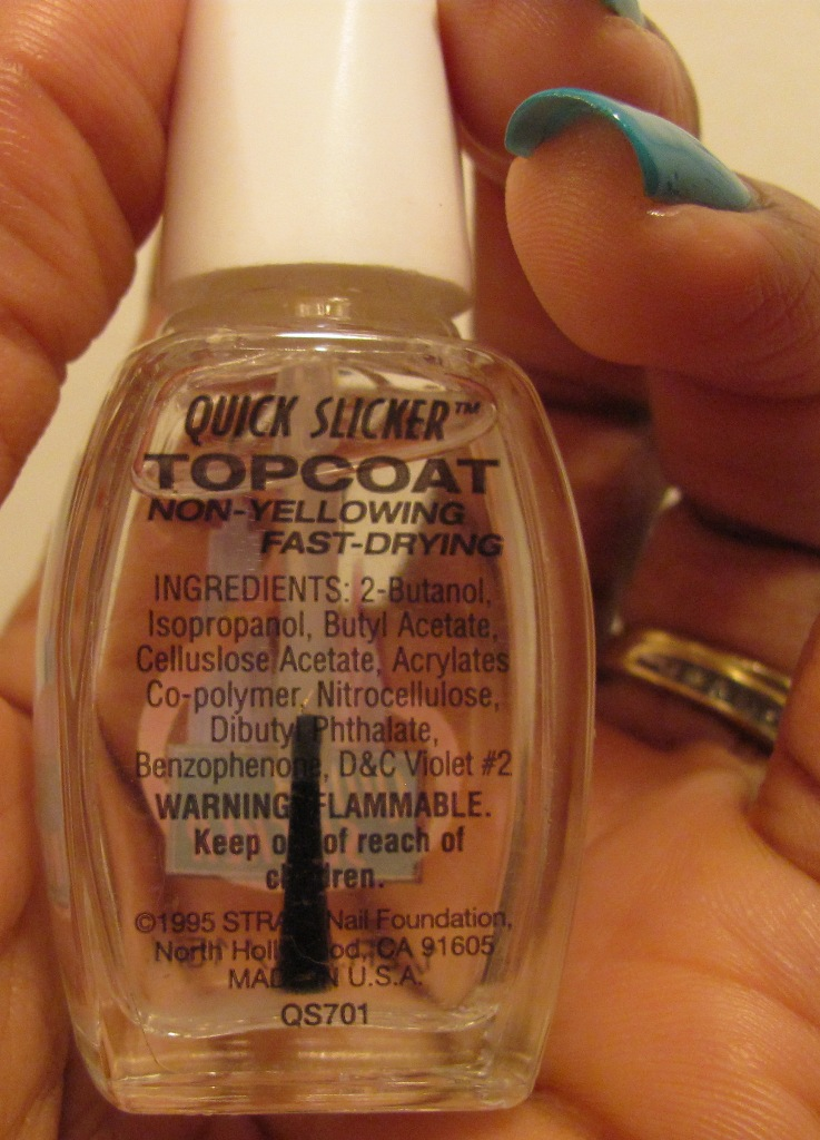ANOTHER Bottle of Polish?!: Quick Slicker Fast Dry Topcoat by Strata ...
