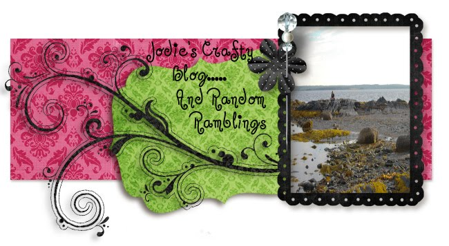 Jodie's Crafty Blog