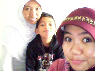 With Mom and Anas
