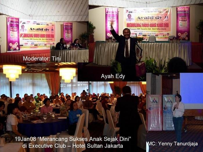 Suasana Parenting Seminar Ayah Edy
