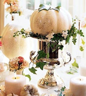 pumpkin wedding centerpices