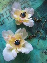 Blossom - Silk Bloom Earrings