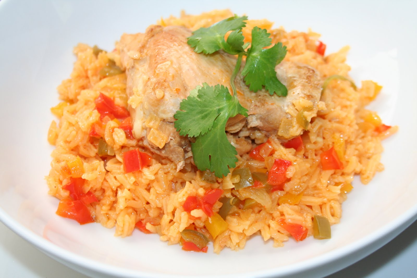 Dishes By Michelle: Arroz Con Pollo