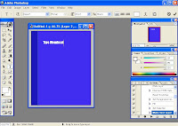 step 4 membuat sampul /cover virtual ebook 3 dimensi