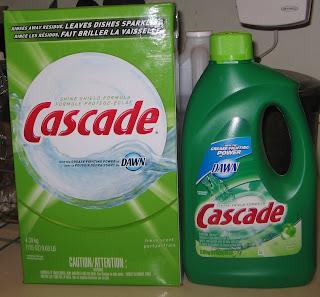 Cascade Dish Detergent