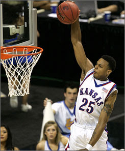 Brandon Rush Special Dunk
