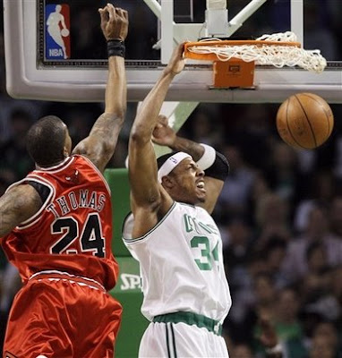 paul pierce dunk on channing frye. 2009 NBA Playoffs: Paul Pierce