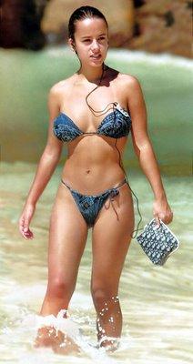 Alizee sexy bikini picture