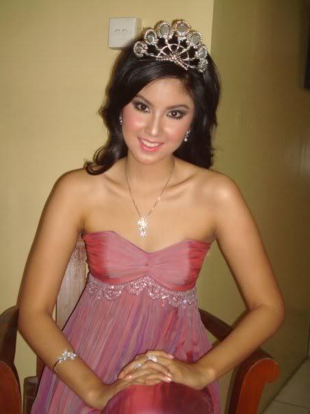 Zivanna Siregar Miss Indonesia