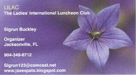 Our LILAC businesscard