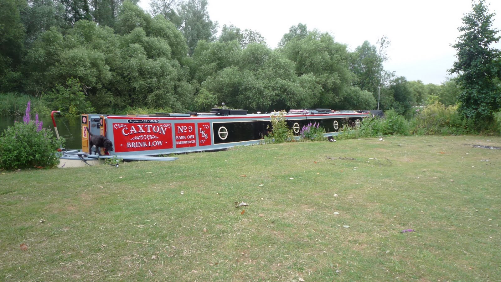 Narrowboat Caxton Little Paxton To St Neots
