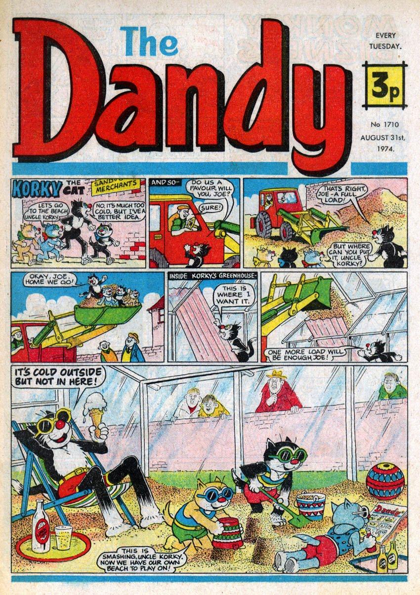 Dandy comic strip