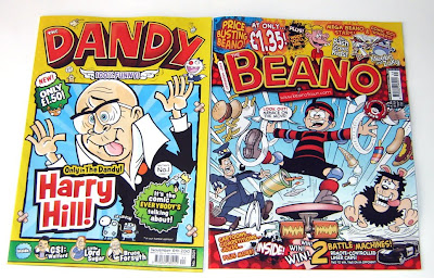New Dandy and Beano
