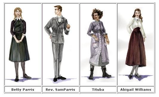 the crucible clothing